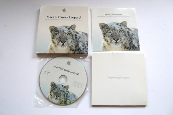 Mac OS X Snow Leopard 10.6.0 Retail Version DVD Multilingual sparepart main image