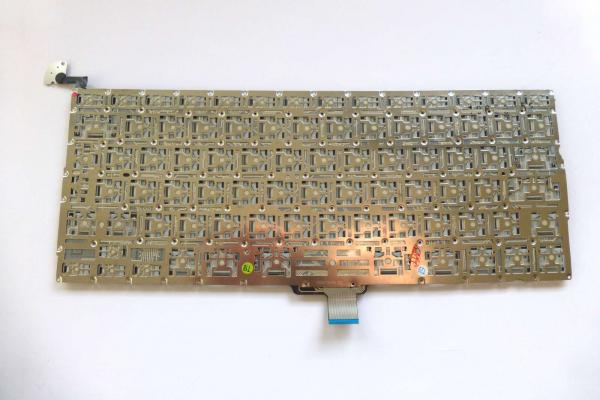 Keyboard german MacBook Pro 13 inch A1278 2009 up to 2012 Original sparepart detail image one