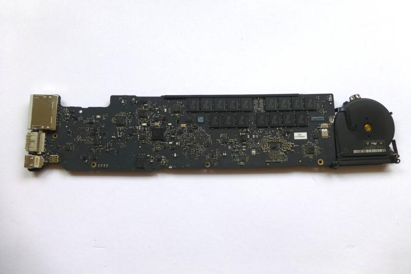 LogicBoard 820-3209-A 661-6631 661-6632 i5 1.8 GHz 8GB Mainboard MacBook Air 13 inch A1466 2012 sparepart second sight